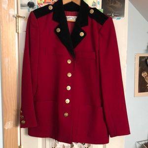 Vintage Yves Saint Laurent military jacket.